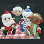 christmas santa elf snowman gingerbread